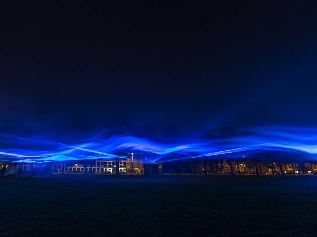 Lumiere 2017 - Waterlicht Dan Roosegaarde
