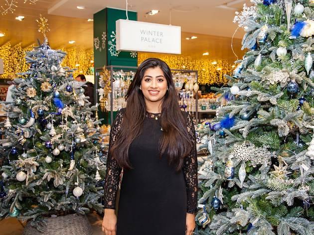 Nadia Hussan, John Lewis Christmas expert