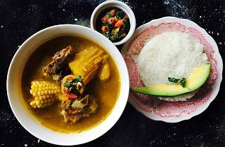 The Sancocho at Usaquén, a Colombian restaurant in North Philadelphia