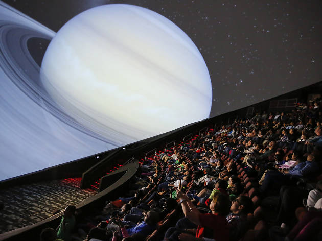 The largest planetarium on the continent opens in Jersey City this weekend