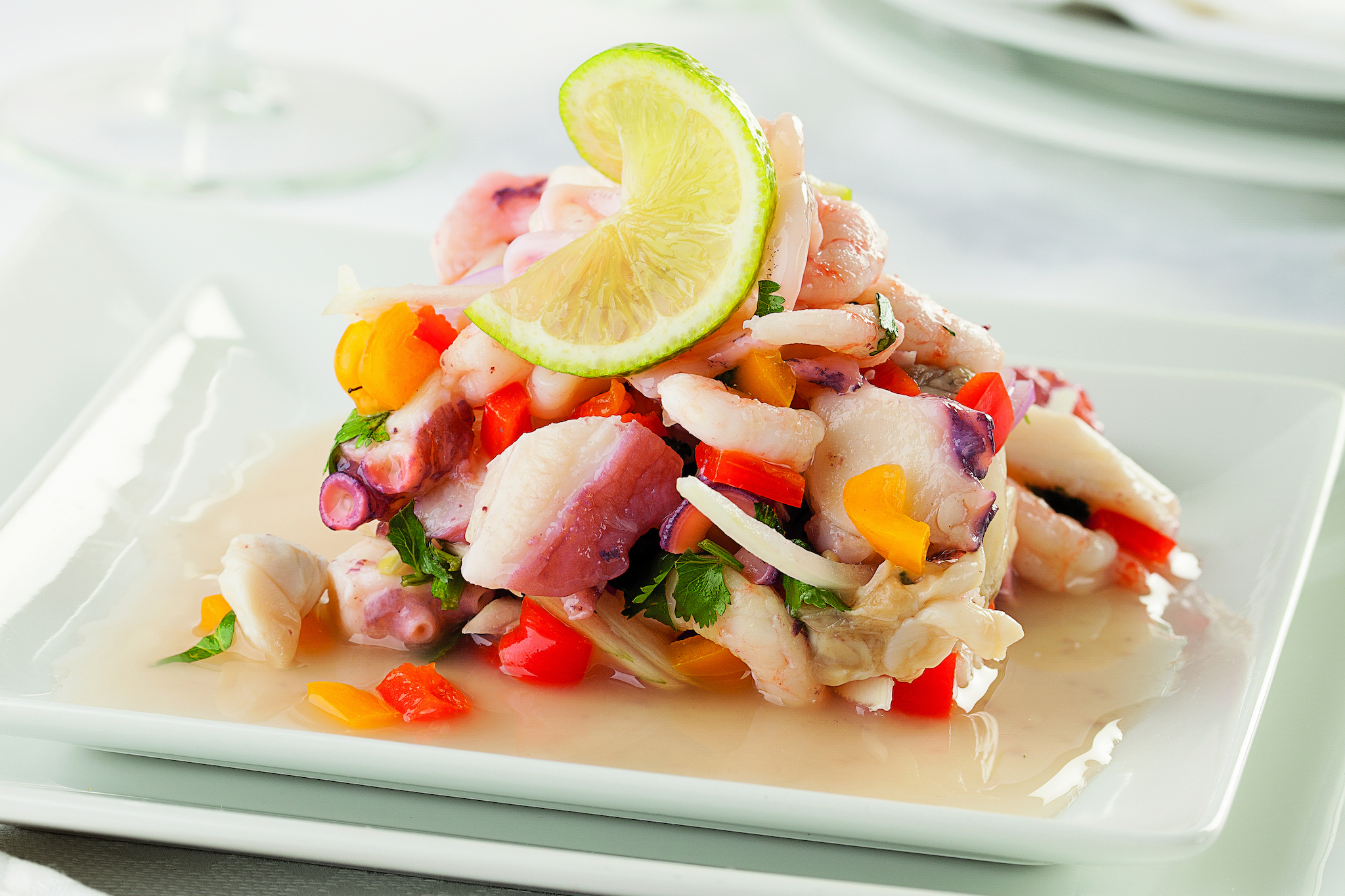 Find Peruvian-style ceviche at some of the best Latin American restaurants in Philadelphia