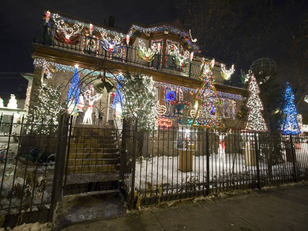 Christmas Lights In Chicago And The Suburbs