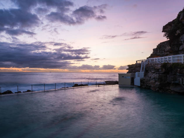 Bronte pool at sunrise