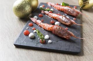 spasso sicilian red prawns