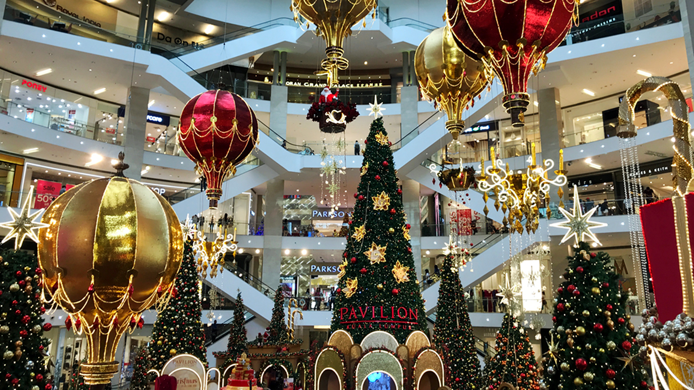 Christmas Events And Decorations In Kuala Lumpurs Shopping Malls