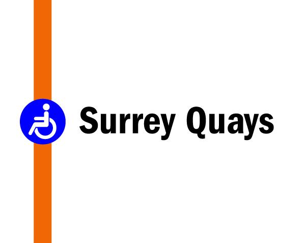 Night tube on the Overground: Surrey Quays