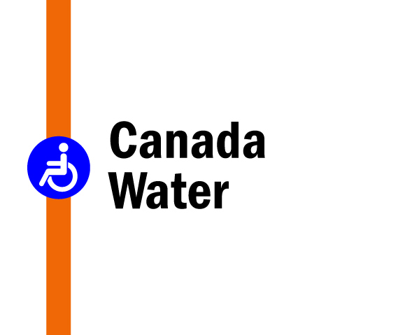 Night tube on the Overground: Canada Water