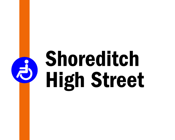 Night tube on the Overground: Shoreditch High Street
