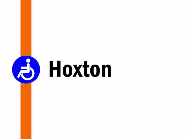 Night tube on the Overground: Hoxton