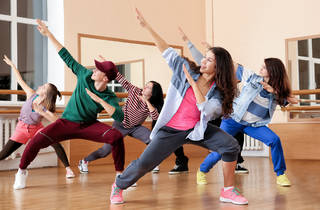 Hip-hop dance class