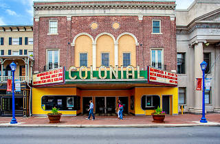 The Colonial Theatre in Phoenixville is famous for its role in the 1958 flick The Blog