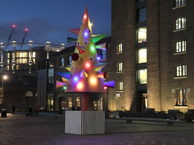 Granary Square Christmas Tree