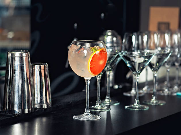 Get your friends together for a night of video games and themed cocktails