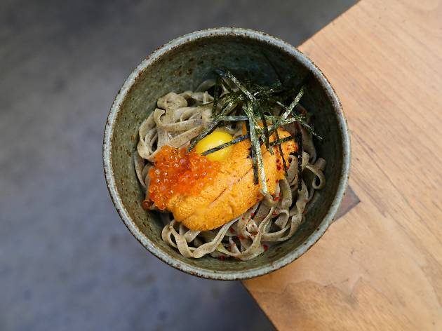 Hinoki, Hinoki and the Bird, Hinoki & the Bird New YEar's Eve menu
