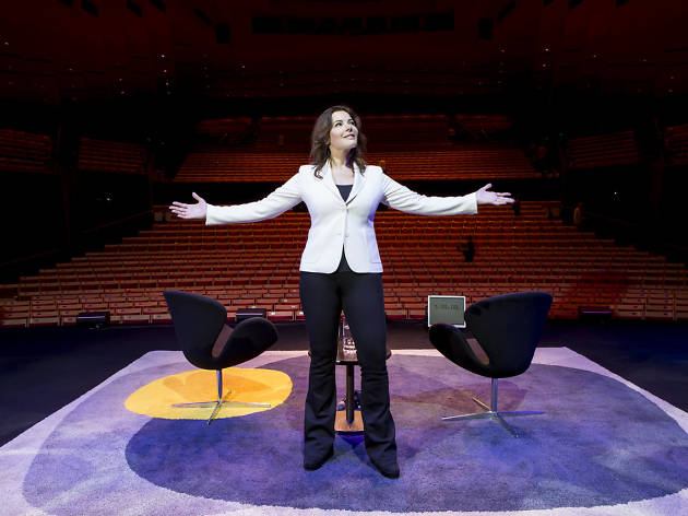 Nigella Lawson at the Sydney Opera House