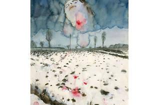 Anselm Kiefer, Winter Landscape(detail), 1970