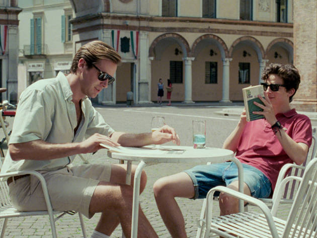 Armie Hammer in Call Me By Your Name