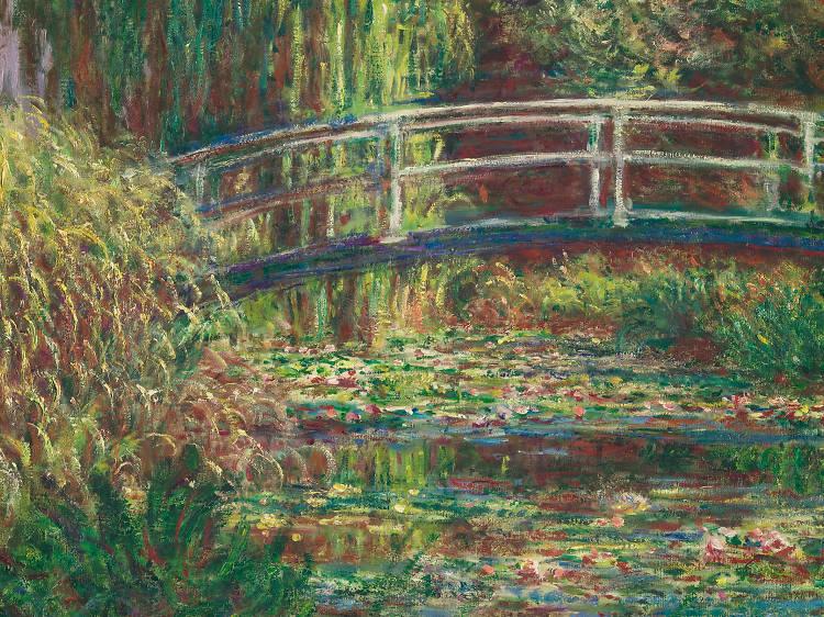 IMPRESSIONIST: Water lilies extended de Claude Monet