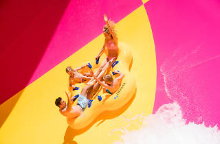 Tornado Waterslide at Adventure Park Geelong