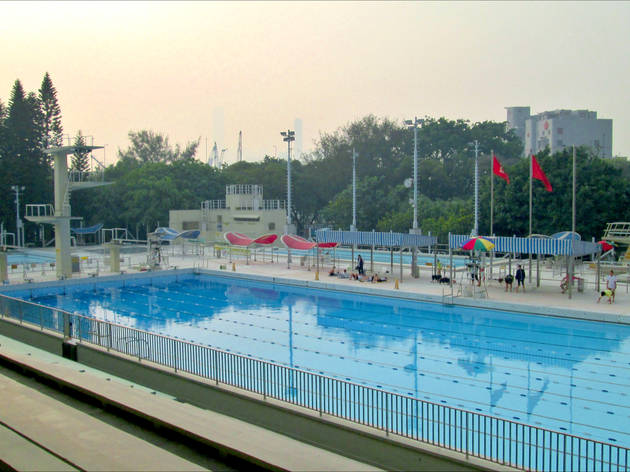at Victoria Park Swimming Pool