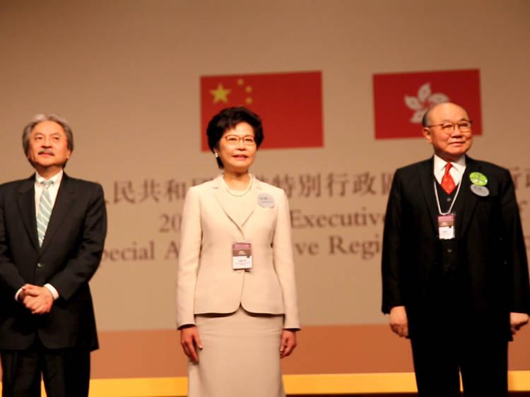 2. 特首選舉 Chief Executive election
