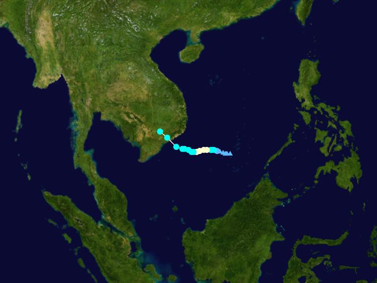 7. 帕卡 Tropical Storm Pakhar