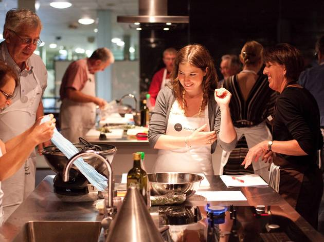 Learn how to cook seafood like a pro at Sydney Seafood School