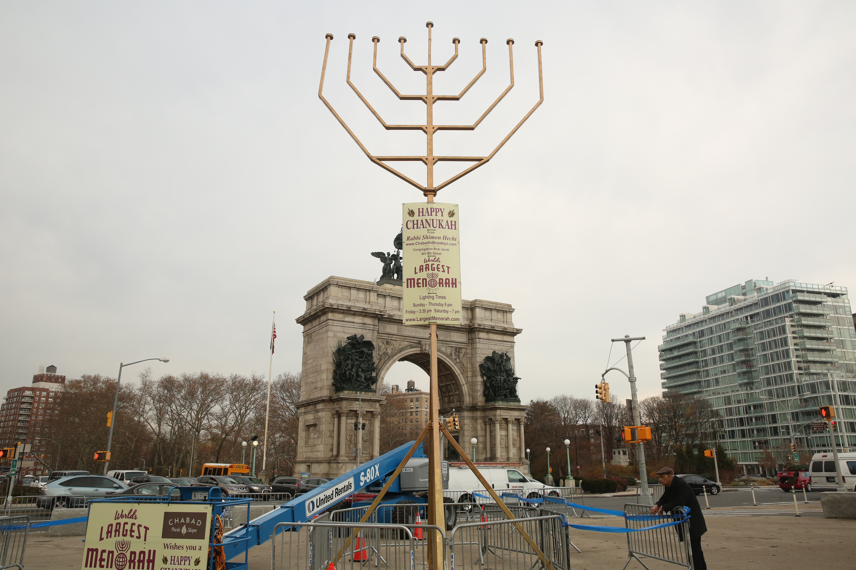 Hanukkah in NYC