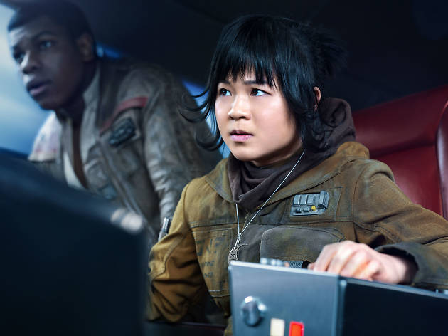 Kelly Marie Tran interpreta a Rose Tico en Star Wars