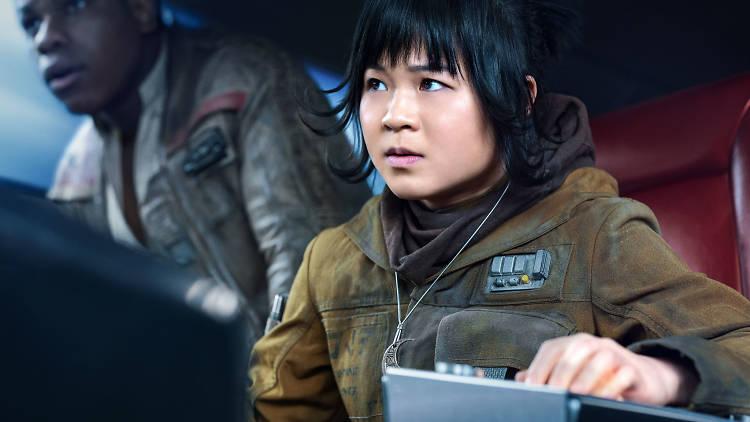 Kelly Marie Tran interpreta a Rose Tico en Star Wars