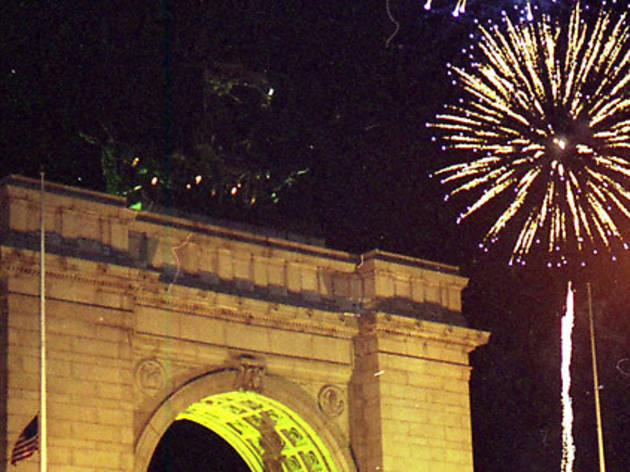 New Year's Eve Fireworks in Prospect Park
