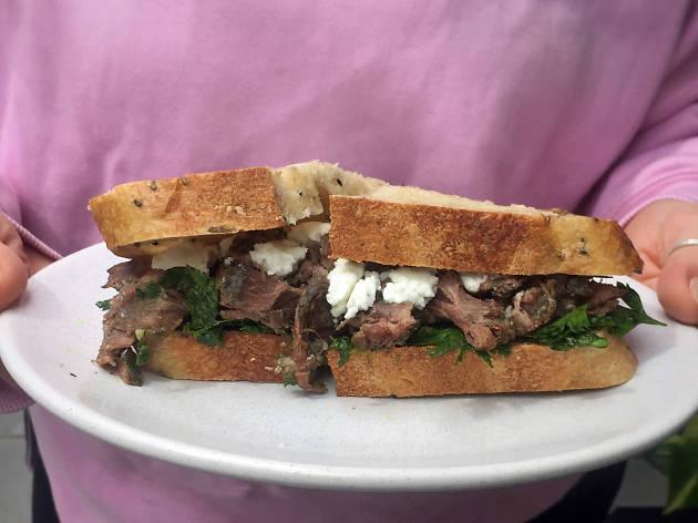 Roast lamb sandwich eastside