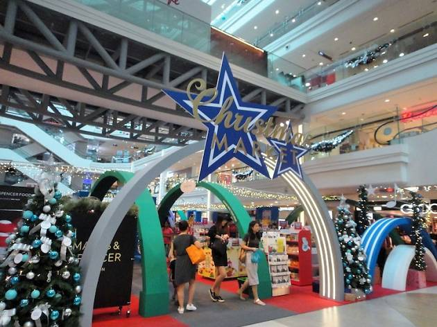 Christmas Market at Plaza Singapura