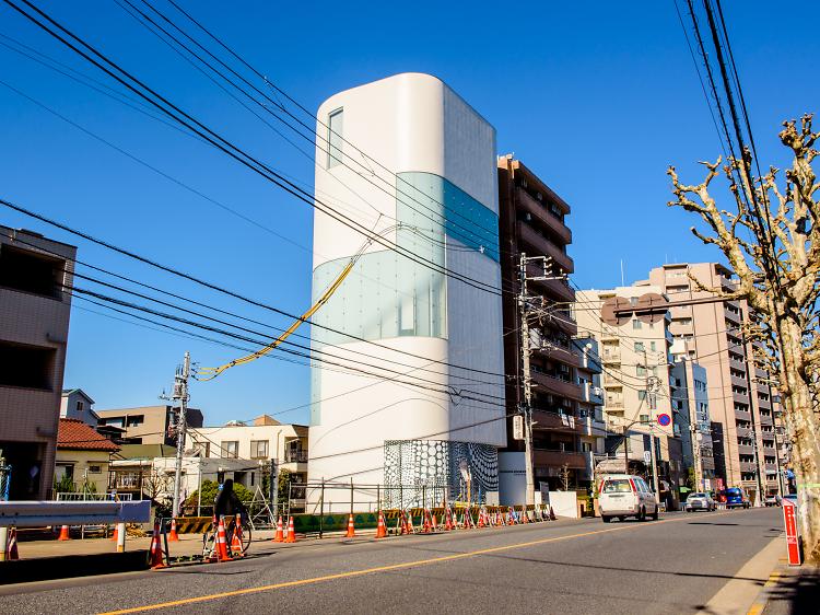 Yayoi Kusama Museum from floor to floor
