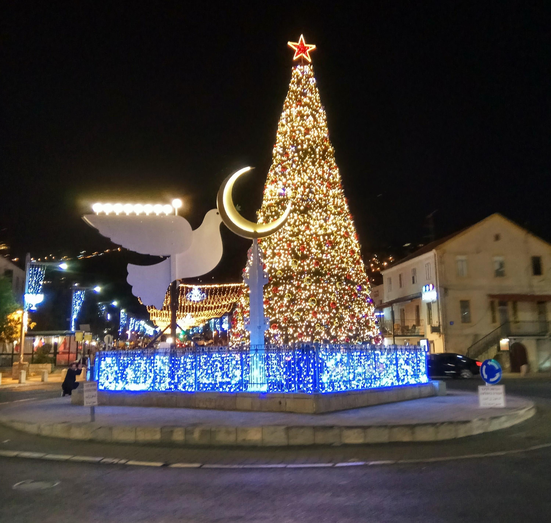 Oh Christmas tree, Oh Hanukkah bush