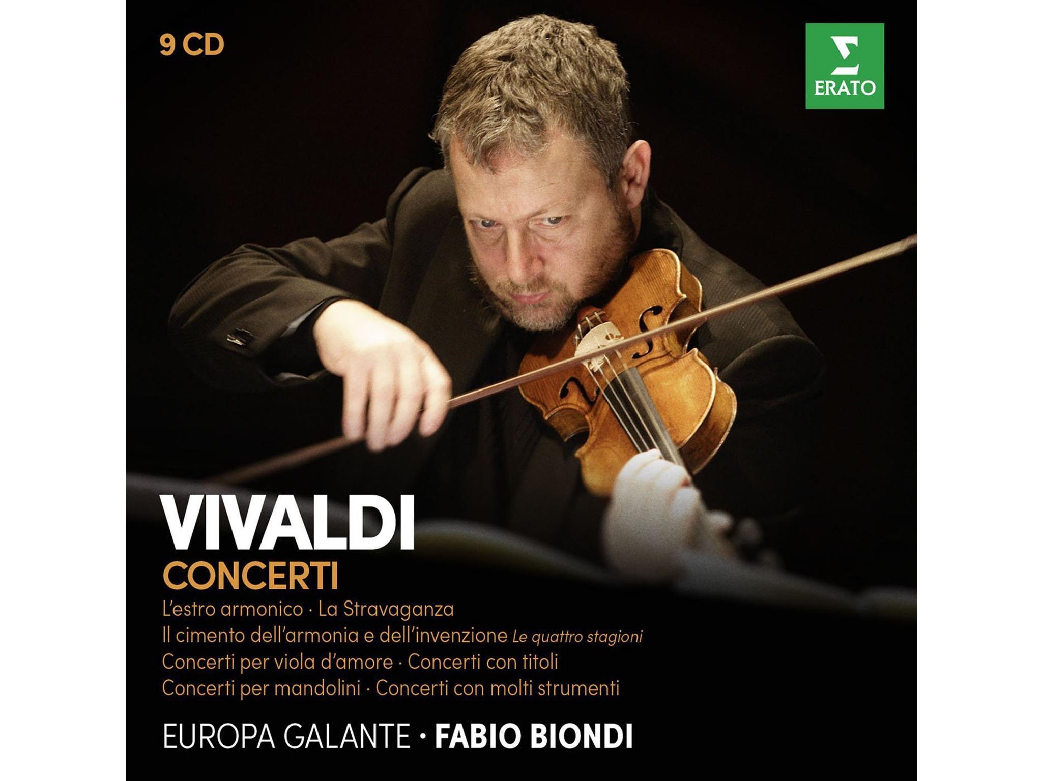 Vivaldi: Fabio Biondi