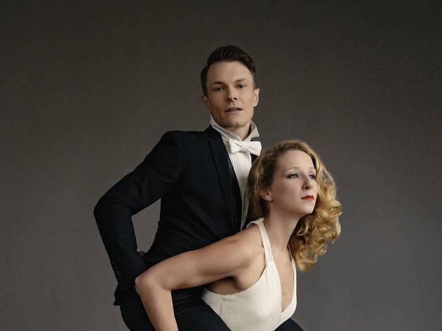 Molly Pope and Kim David Smith