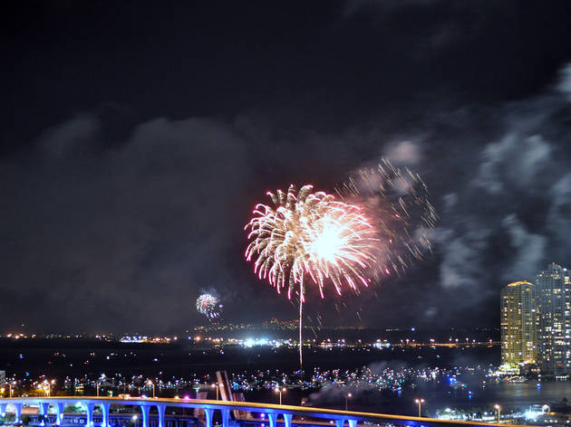 Here's where you can see New Year's Eve fireworks in Miami