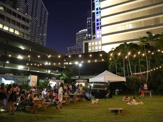 Brickell City Centre debuts a pop-up beer garden this month