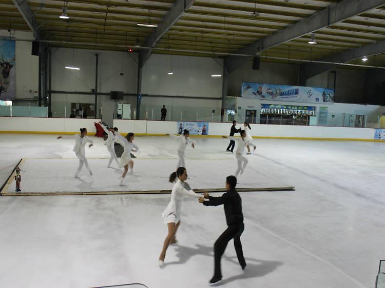El cascanueces, danza sobre hielo
