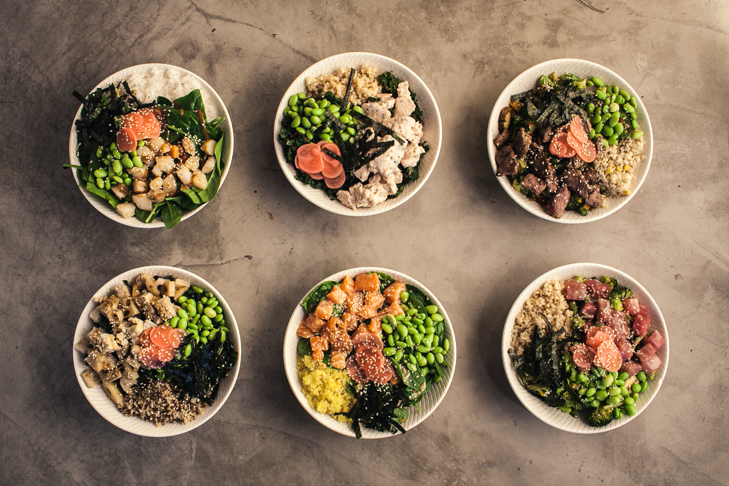 Nosh is giving away 100 bowls of poke