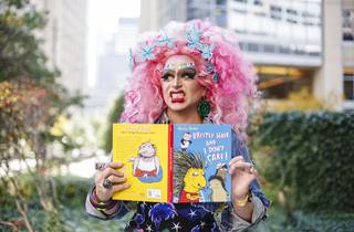 Story Time with Drag Queens, muffy fishbasket