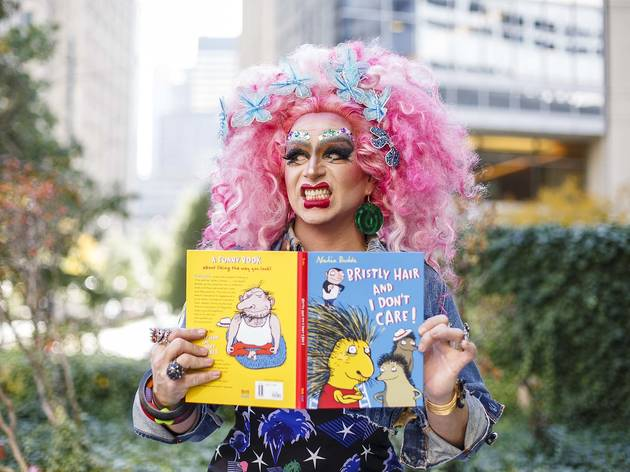 Story Time with Drag Queens puts a new face on kid lit