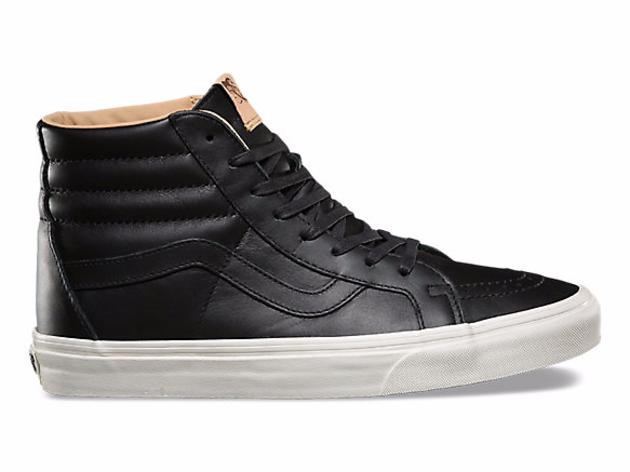 Lux Leather Sk8-Hi Reissue Vans
