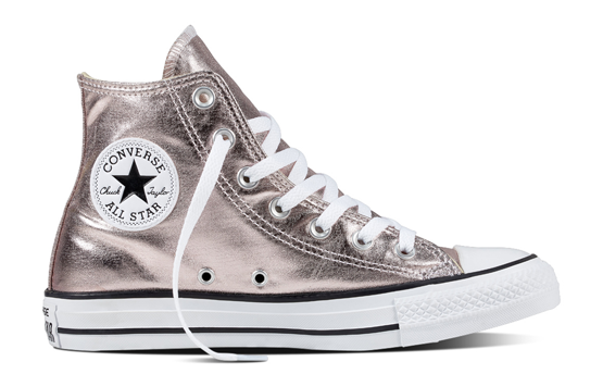 Chuck Taylor All Star HI Metallic Canvas Converse