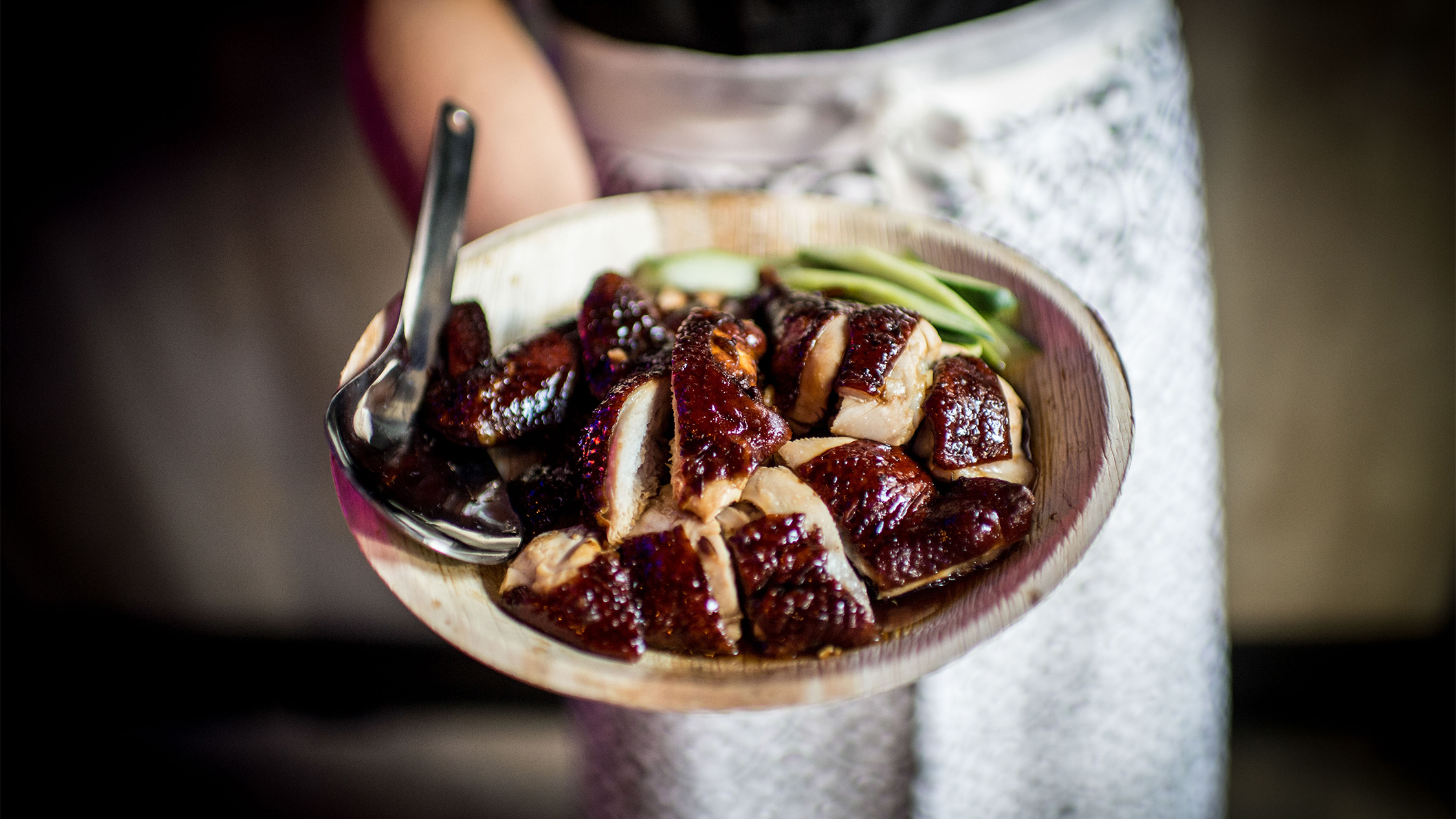 Soy Sauce chicken by Hawker Chan