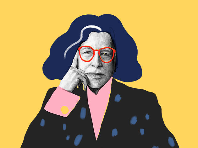 Fran Lebowitz illustrated