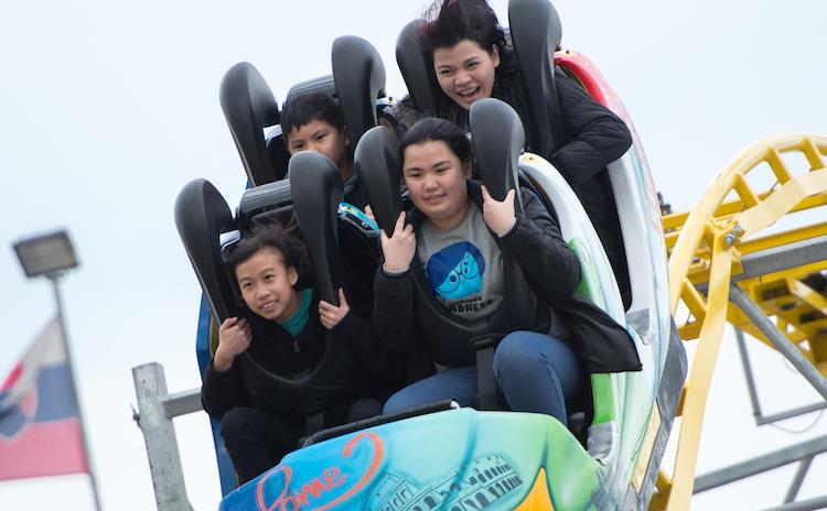Marina Bay Carnival Cyclone Coaster