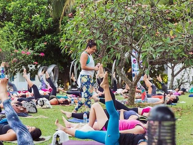 Marina Bay Carnival fitness