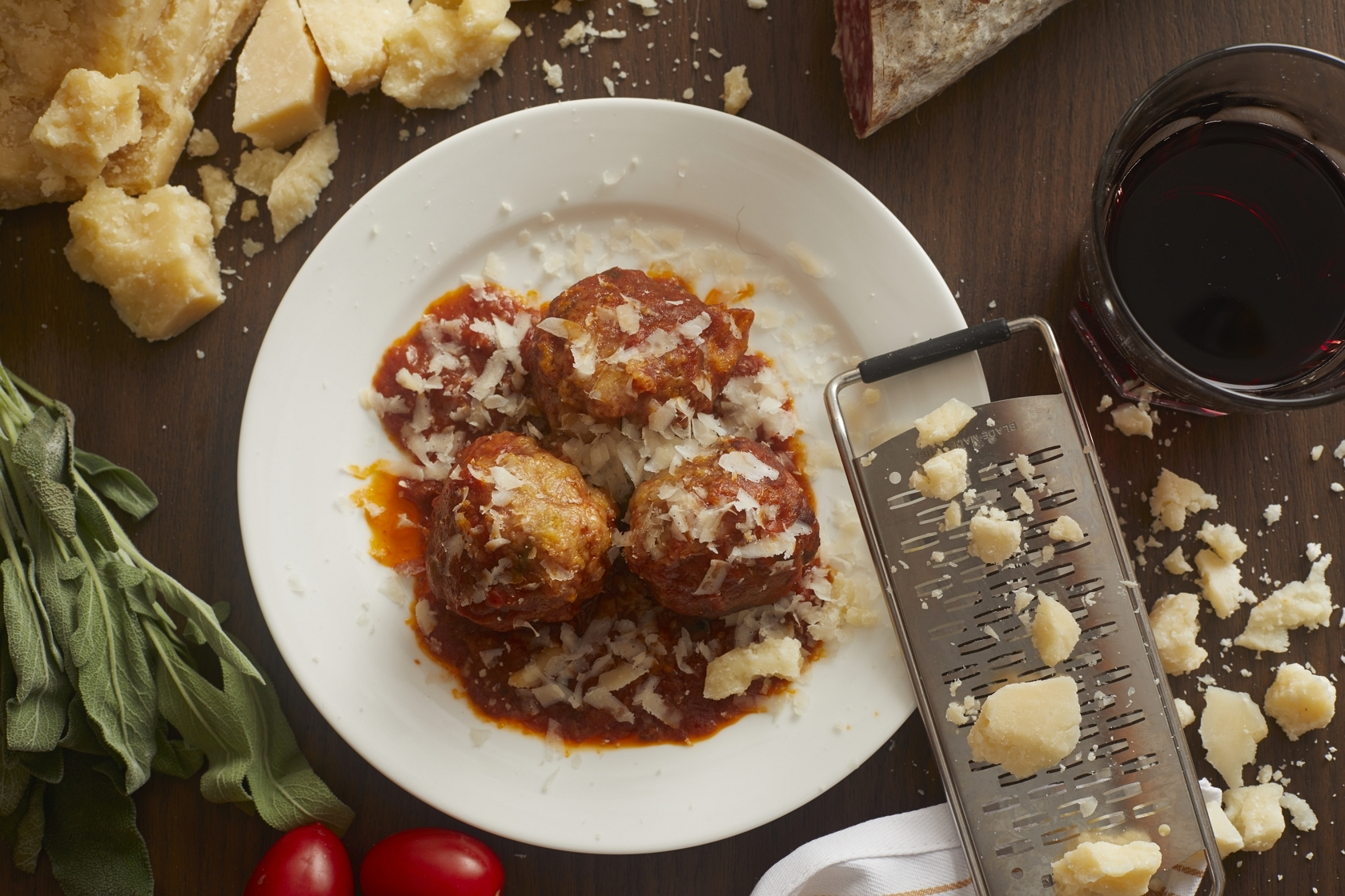 Pici's homemade meatballs